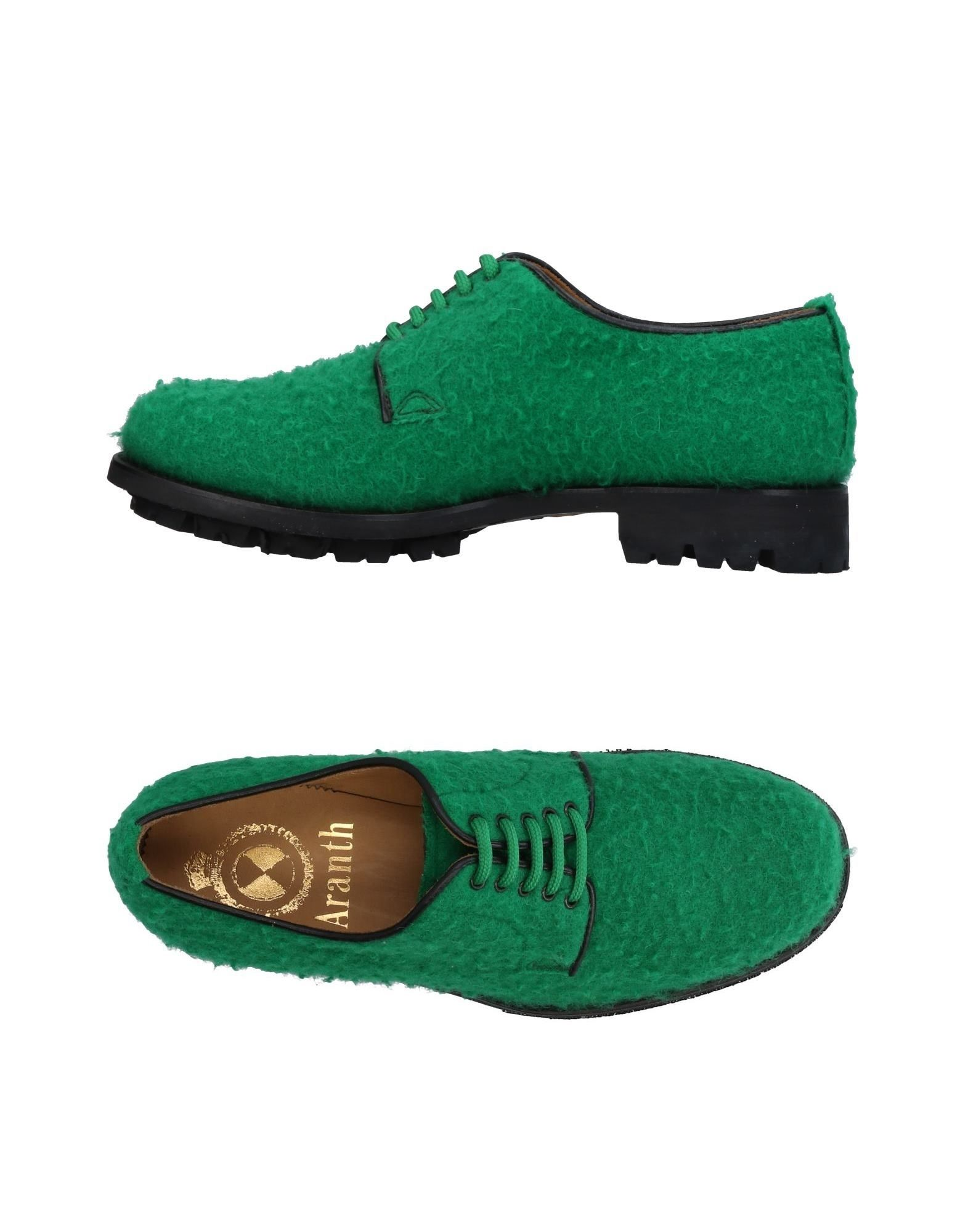 ARANTH Laced Shoes in Green