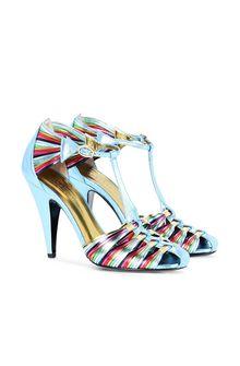 PHILOSOPHY di LORENZO SERAFINI Rainbow sandals High-heeled sandals D f