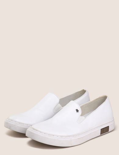 LOGO RIVET SLIP-ON SNEAKERS