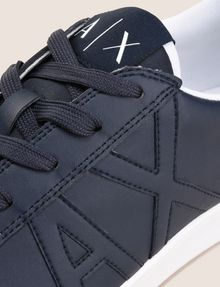 ARMANI EXCHANGE COLORBLOCK ACCENT LOW-TOP SNEAKERS Sneakers Man a