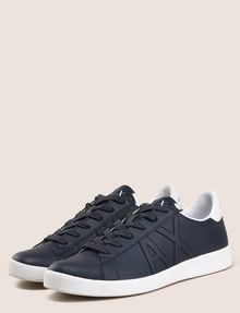 ARMANI EXCHANGE COLORBLOCK ACCENT LOW-TOP SNEAKERS Sneakers Man r
