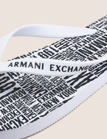 ARMANI EXCHANGE TONGS IMPRIMÉES Tong Homme e