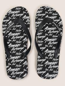 ARMANI EXCHANGE PRINTED FLIP-FLOPS flip-flop Man d