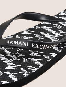 ARMANI EXCHANGE INFRADITO IN GOMMA Infradito [*** pickupInStoreShippingNotGuaranteed_info ***] e