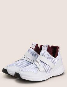 ARMANI EXCHANGE CROSS-STRAP MESH SNEAKERS Sneakers Man r