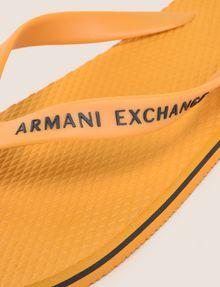 ARMANI EXCHANGE STRIPED SOLE FLIPFLOPS flip-flop Man e