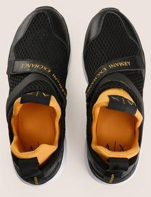 ARMANI EXCHANGE CROSS-STRAP MESH SNEAKERS Sneakers Man e