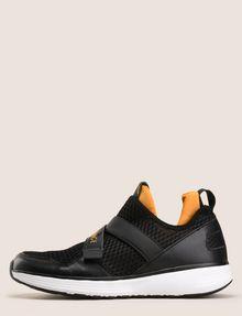 ARMANI EXCHANGE CROSS-STRAP MESH SNEAKERS Sneakers Man f