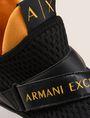 ARMANI EXCHANGE CROSS-STRAP MESH SNEAKERS Sneakers Man a