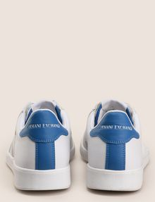 ARMANI EXCHANGE COLORBLOCK ACCENT LOW-TOP SNEAKERS Sneaker Man d