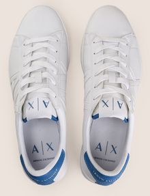 ARMANI EXCHANGE COLORBLOCK ACCENT LOW-TOP SNEAKERS Sneaker Man e