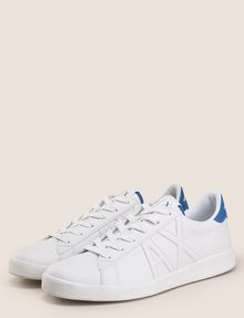 ARMANI EXCHANGE COLORBLOCK ACCENT LOW-TOP SNEAKERS Sneaker Man r