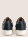 ARMANI EXCHANGE ELASTIC INSERT LOW-TOP SNEAKERS Sneakers [*** pickupInStoreShippingNotGuaranteed_info ***] d