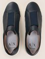 ARMANI EXCHANGE ELASTIC INSERT LOW-TOP SNEAKERS Sneakers [*** pickupInStoreShippingNotGuaranteed_info ***] e
