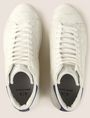 ARMANI EXCHANGE SNAKE-EMBOSSED HIGH-TOP SNEAKERS Sneakers Man e