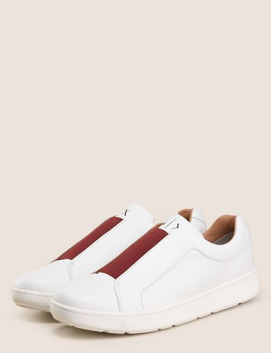 ELASTIC INSERT LOW-TOP SNEAKERS