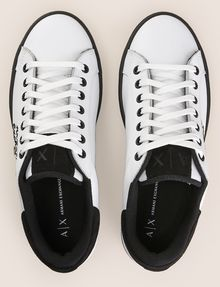 ARMANI EXCHANGE ITALY STAR STUD LEATHER SNEAKERS Sneaker Woman e