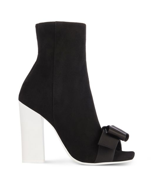 OPEN-TOE HIGH-HEELED ANKLE BOOT - Lanvin