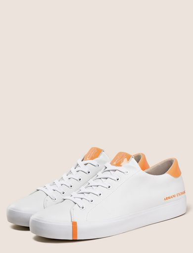PATENT-DETAIL COLORBLOCKED LOW-TOP