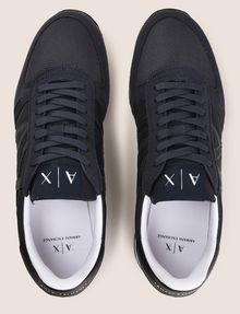 ARMANI EXCHANGE RETRO LOW-TOP LOGO SNEAKERS Sneakers Man e
