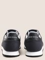 ARMANI EXCHANGE RETRO LOW-TOP LOGO SNEAKERS Sneakers [*** pickupInStoreShippingNotGuaranteed_info ***] d