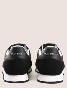 ARMANI EXCHANGE RETRO LOW-TOP LOGO SNEAKERS Sneakers Man d