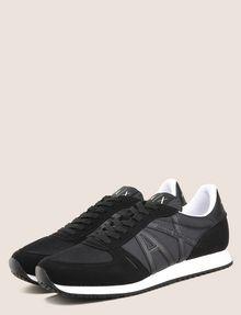 ARMANI EXCHANGE RETRO LOW-TOP LOGO SNEAKERS Sneakers Man r