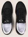 ARMANI EXCHANGE RETRO LOW-TOP LOGO SNEAKERS Sneakers Man e