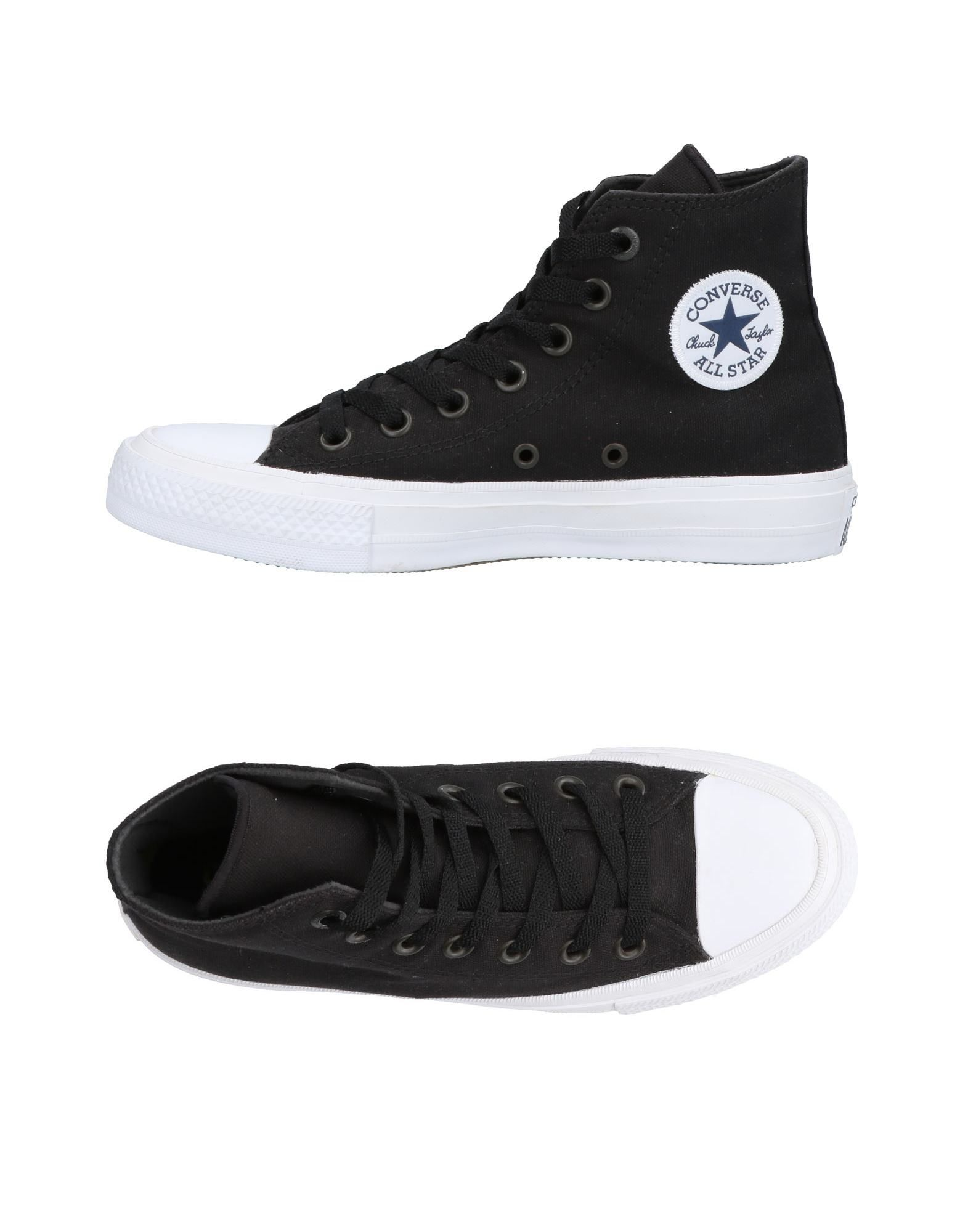 CONVERSE ALL STAR CHUCK TAYLOR II Высокие кеды и кроссовки слиперы chuck taylor all star cove converse