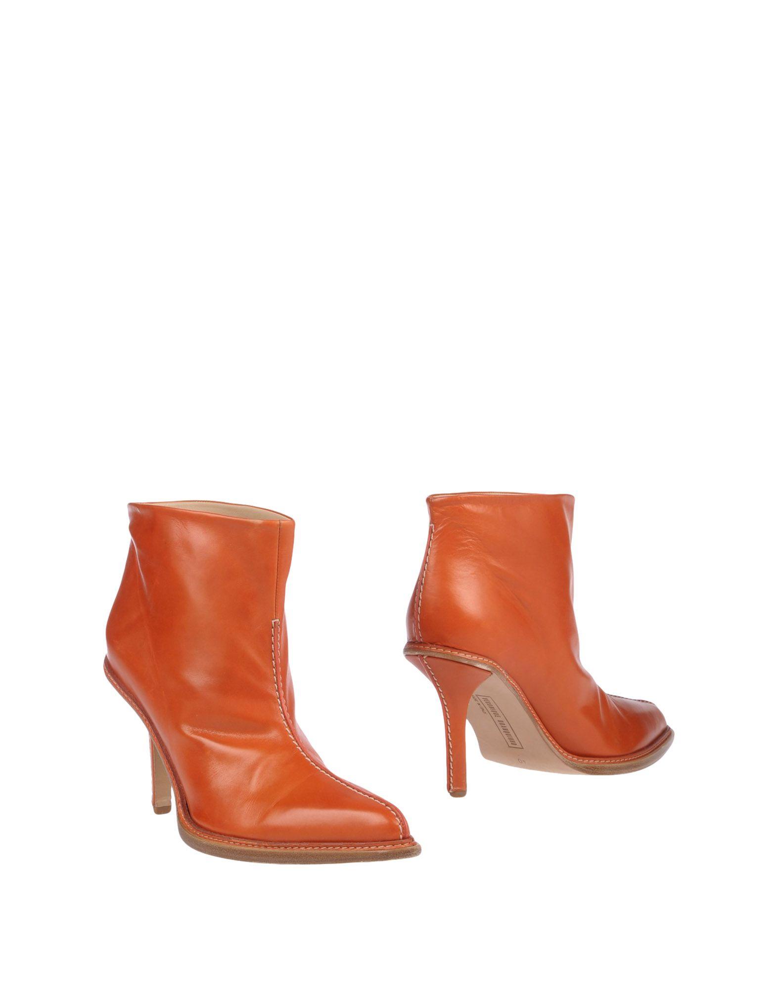 VERONIQUE BRANQUINHO Полусапоги и высокие ботинки