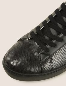 ARMANI EXCHANGE SNAKE-EMBOSSED HIGH-TOP SNEAKERS Sneakers Man a