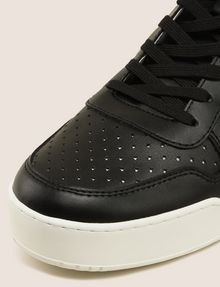 ARMANI EXCHANGE PERFORATED LOGO HIGH-TOP SNEAKERS Sneakers Man a