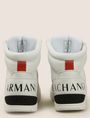 ARMANI EXCHANGE PERFORATED LOGO HIGH-TOP SNEAKERS Sneaker Man d