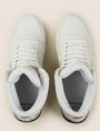ARMANI EXCHANGE PERFORATED LOGO HIGH-TOP SNEAKERS Sneaker Man e