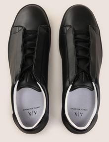 ARMANI EXCHANGE HIDDEN LACE LOW-TOP SNEAKERS Sneaker Man e