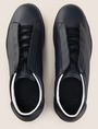 ARMANI EXCHANGE HIDDEN LACE LOW-TOP SNEAKERS Sneaker Man e
