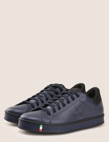 ARMANI EXCHANGE MADE IN ITALY LEATHER STAR SNEAKERS Sneaker Man r