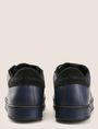 ARMANI EXCHANGE MADE IN ITALY LEATHER STAR SNEAKERS Sneaker Man d