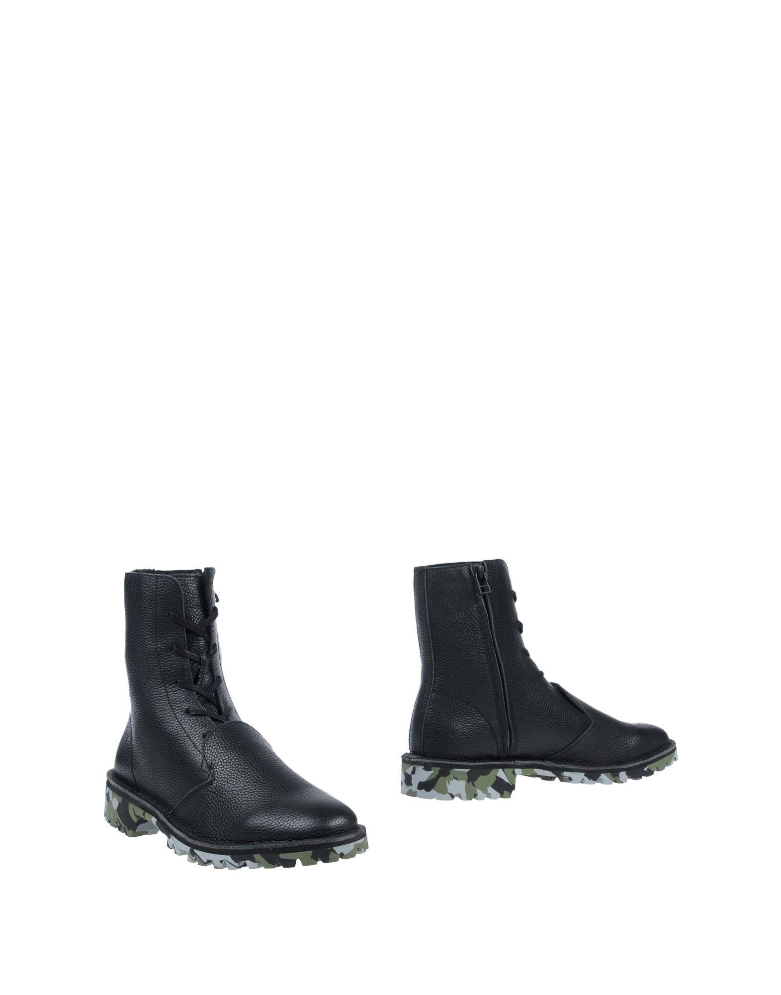 цена YOHJI YAMAMOTO Полусапоги и высокие ботинки онлайн в 2017 году