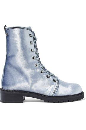 STUART WEITZMAN Metermaid velvet boots