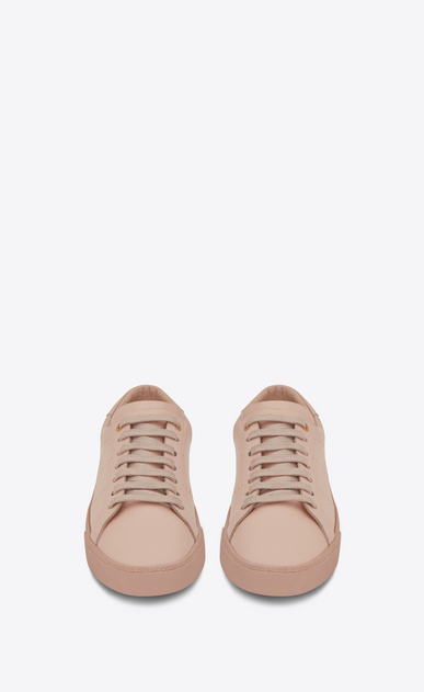 SAINT LAURENT Low Sneakers Woman signature court sl/06 sneaker in light pink leather b_V4