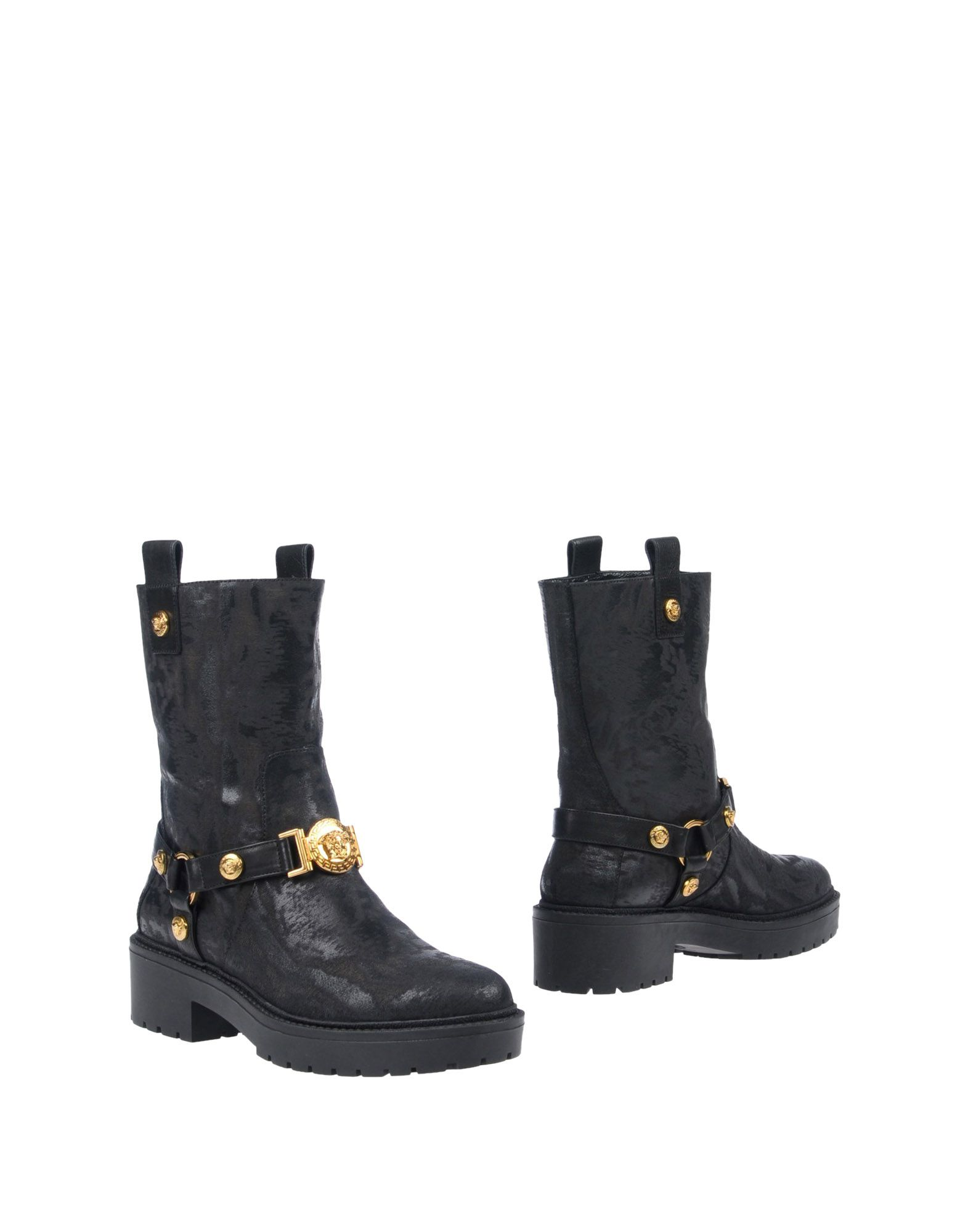 VERSACE Полусапоги и высокие ботинки miss unique полусапоги и высокие ботинки