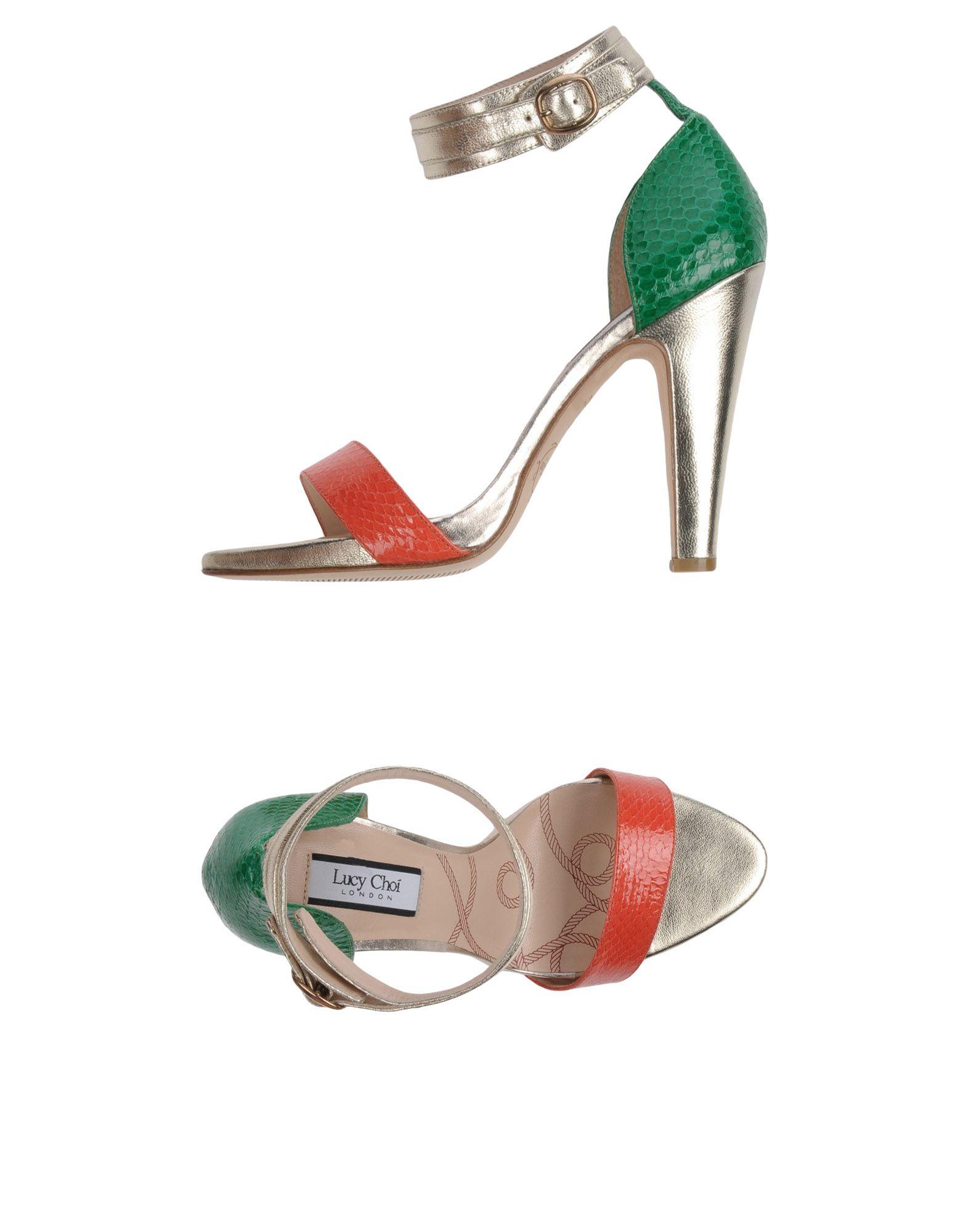 LUCY CHOI London Сандалии lucy choi ботинки