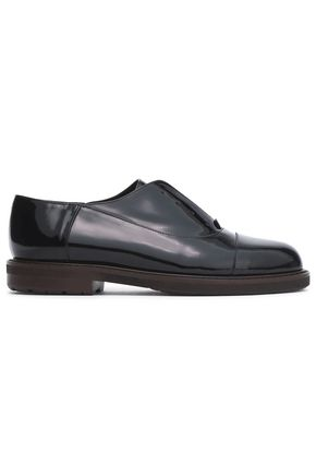 MARNI Patent-leather brogues