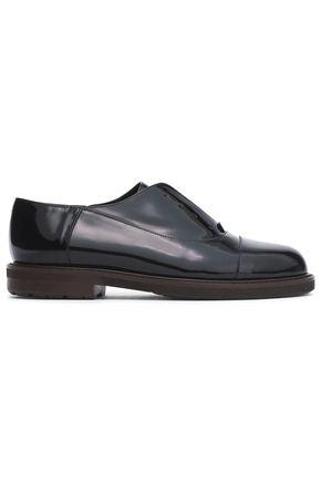 MARNI Patent-leather brogues