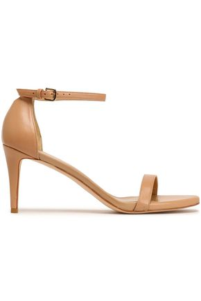 STUART WEITZMAN Patent-leather sandals