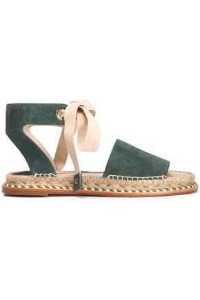 PALOMA BARCELÓ Lace-up suede sandals