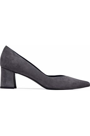 STUART WEITZMAN Everyday suede pumps