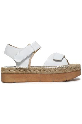 PALOMA BARCELÓ Leather platform sandals