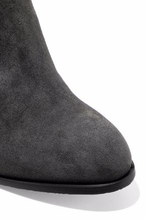 STUART WEITZMAN Sidemover suede ankle boots
